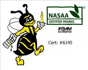 Bee & NAASA logo MYOB